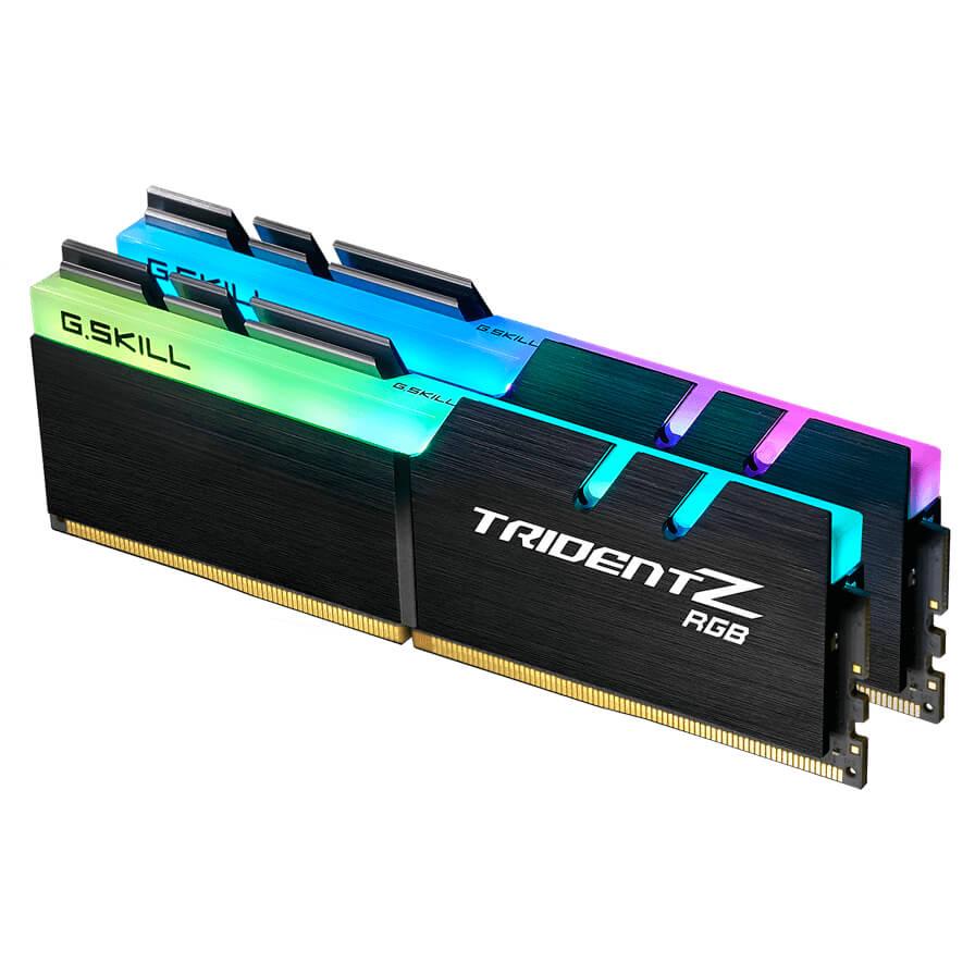 DDR4 G.SKILL Trident Z RGB. 16GB 2x8GB 3000c16.