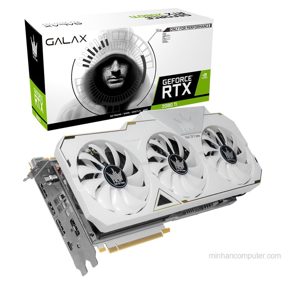 Galax GeForce RTX 2080Ti HOF - Hall of Fame. 11GB GDDR6 352BIT
