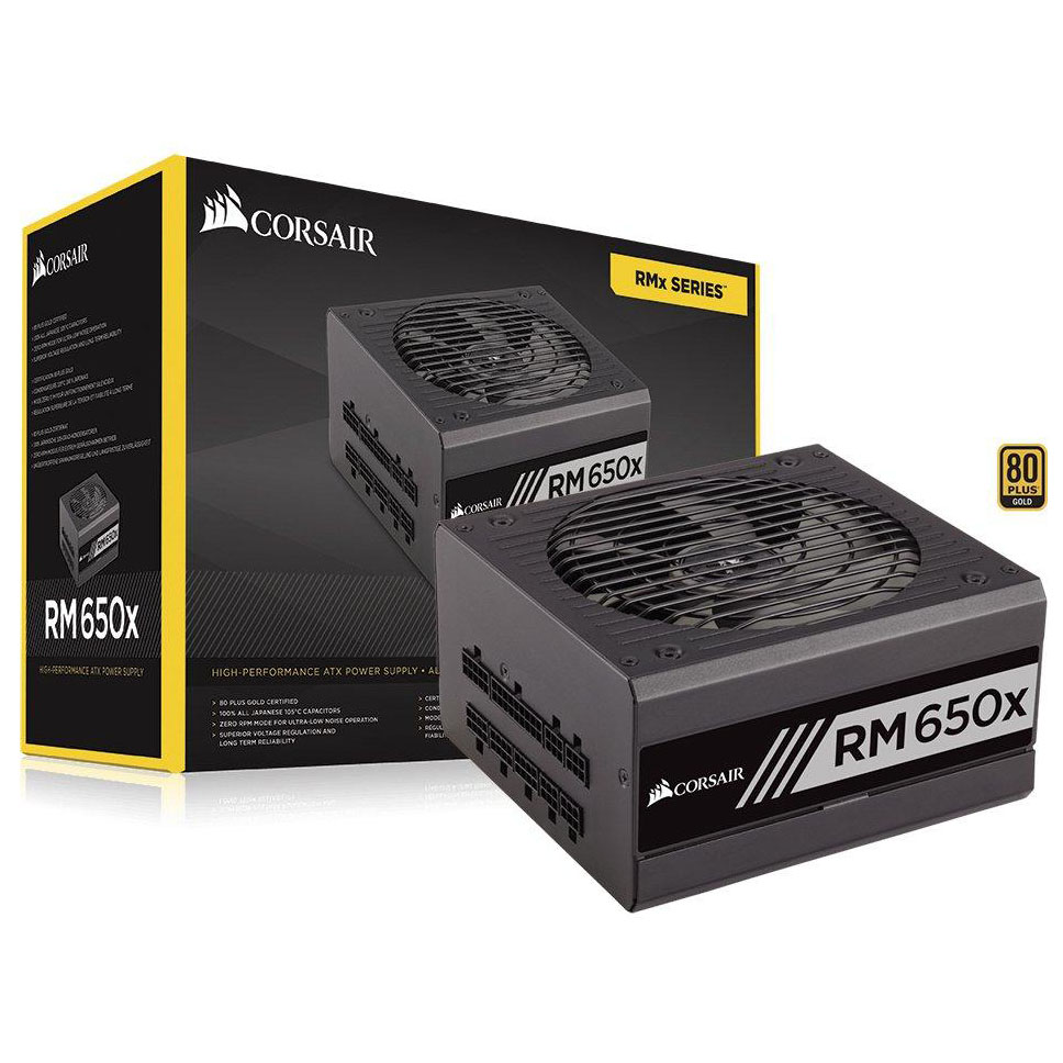 Corsair RM Series 650 RM650X – 850W. 80 Plus Gold