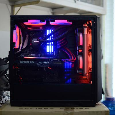 i7-8700K. Z370 Pro Carbon. DDR4 Corsair 32GB. GTX 1080Ti
