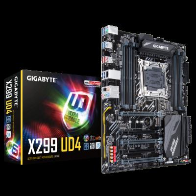 Gigabyte X299 UD4. LGA2066 ATX.