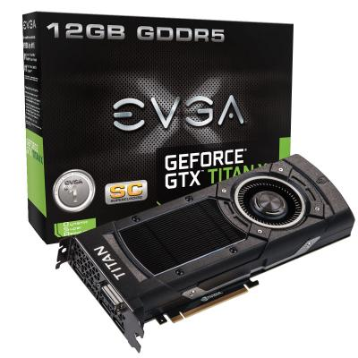 Evga GeForce GTX Titan X. 12GB 384BIT DDR5. 3072 Cuda