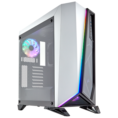 Corsair Carbide SPEC-OMEGA RGB Mid-White/ Black.
