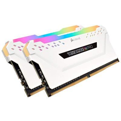DDR4 Corsair Vengeance Pro RGB White 16GB 2x8GB 3200C16