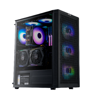 Infinity Renga -Tempered Glass Gaming Case.