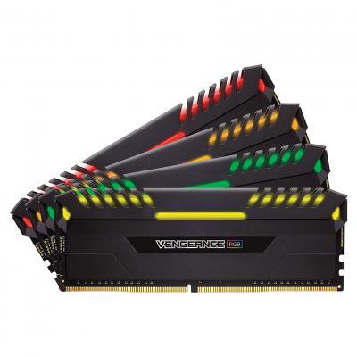 DDR4 Corsair Vengeance RGB Black 32GB 4x8GB 3000C15