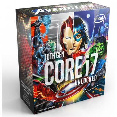 Intel Core i7-10700K Avengers Edition(16M Cache, Up To 5.1GHz)