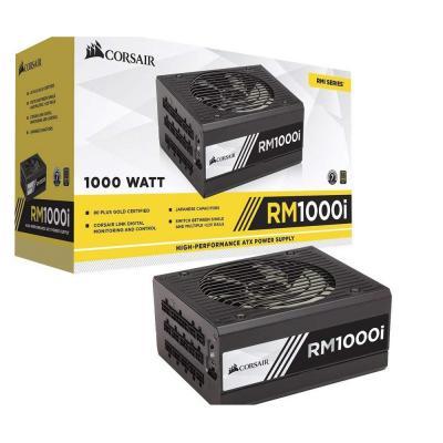 Corsair RM1000i RMi Series 1000w Full Modular, 80Plus Gold.