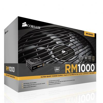 Corsair RM1000 RM Series 1000w Full Modular, 80Plus Gold