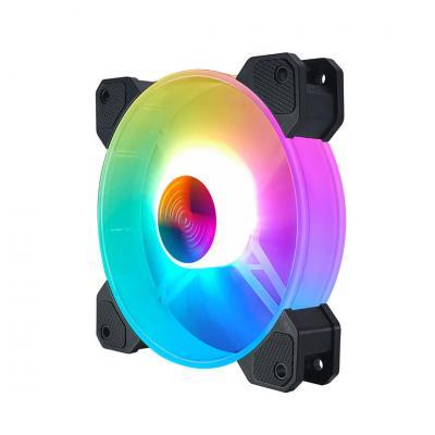 Fan CoolMoon RGB. Kit 3 Fan 120mm