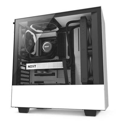NZXT H500i White Black. Kính cường lực.