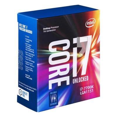 Intel Core i7-7700K LGA-1151(8M bộ nhớ đệm, tối đa 4.50 GHz)