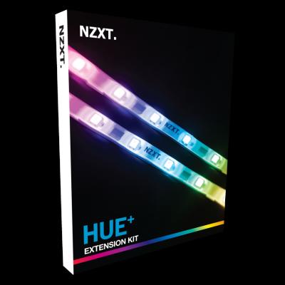 NZXT Hue+ Advanced PC Lighting. 4 sợi Led RGB + 1 Hub