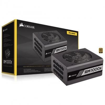 Corsair RM1000X RM Series 1000w Full Modular, 80Plus Gold.